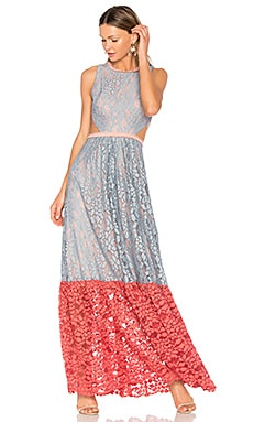 Arhea Gown in Multicolor Lace