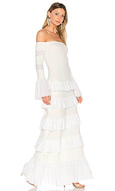 Sylar Gown in White