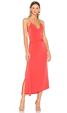 Analiai Dress in Salmon