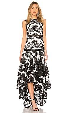 Асимметричное вечернее платье rita - Alexis thumbnail