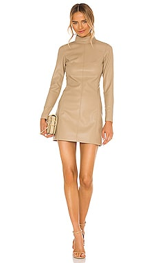 Misake Vegan Leather Dress Alexis $436 Collections