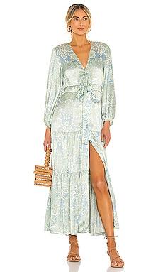 Fortunia Long Dress Alexis $517