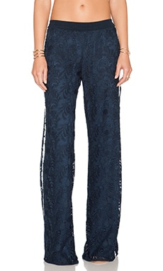Alexis Hugo Lace Pant in Navy