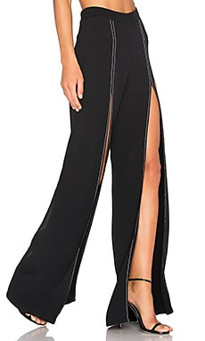 Oliviera Pant in Black