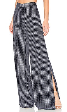Lolette Pant in Navy Dot