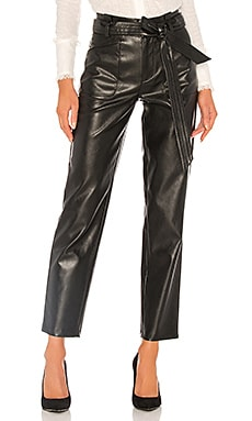 Castile Vegan Leather Pant Alexis $208