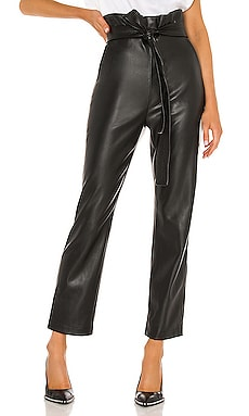 Kayden Vegan Leather Pants Alexis $330 NEW