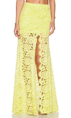 Alexis Micah Lace Skirt in Lime