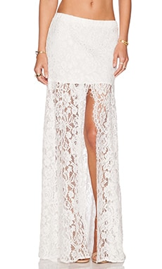 Alexis x REVOLVE Micah Lace Skirt in White