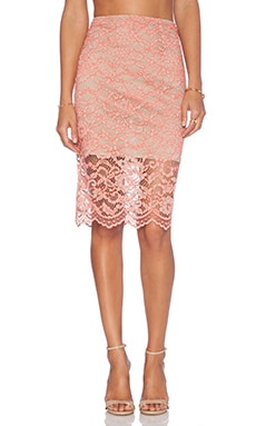 Alexis x REVOLVE Cesar Pencil Skirt in Melon