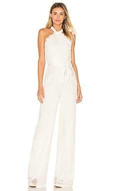 Maylina Jumpsuit in Ivory