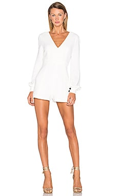 Kourtney Romper in Ivory
