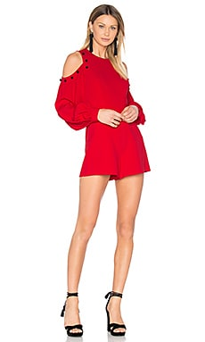 Asher Romper in Red