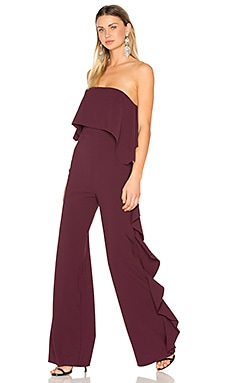 Kendall Jumpsuit in Plum