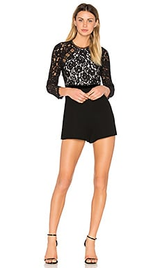 Tammy Romper en Black & White