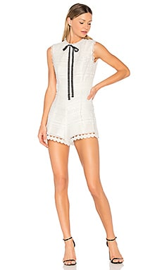 Syden Romper in White
