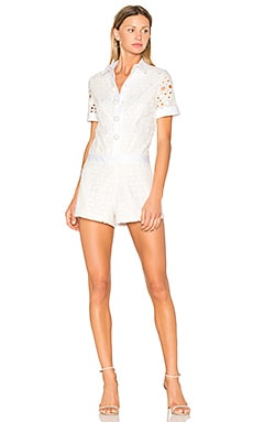 Rockwell Romper in White