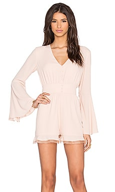 Alexis Martine Romper in Blush