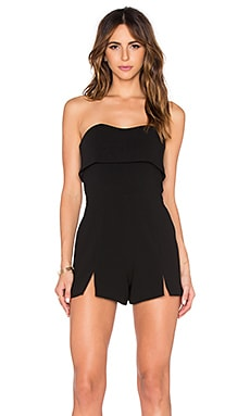 Alexis Kia Romper in Black