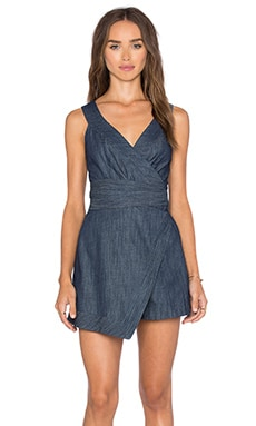 Lexi Romper in Blue