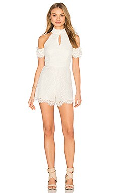 Adele Romper in White