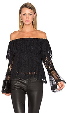 Laurena Top in Black