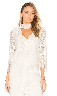 Waverly Blouse in Off White