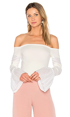 Gryffin Top in White