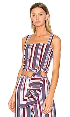 Sena Top in Multicolor Stripe
