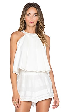 Alexis Medeia Flared Top in White