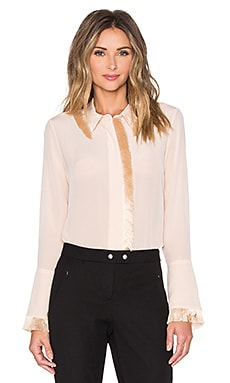 Alexis Mariela Blouse in Blush