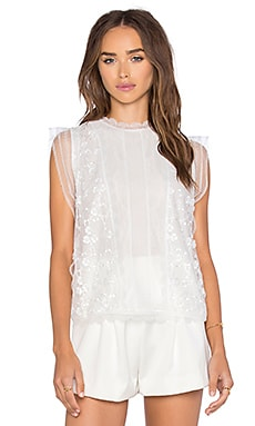 Alexis Essie Top in White