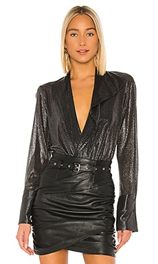 Reade Metallic Bodysuit ALIX NYC $257