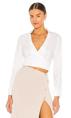 Aya Wrap Shirt Aya Muse $196