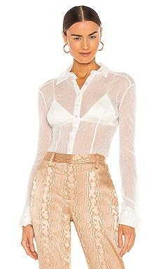 Lila Mesh Shirt Aya Muse $335