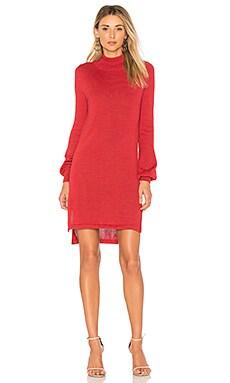 Вязаное платье с воротником водолазка onyx - AYNI