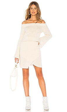 Misha Off The Shoulder Sweater Dress AYNI $88