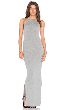 Gratona Maxi Dress in Light Grey