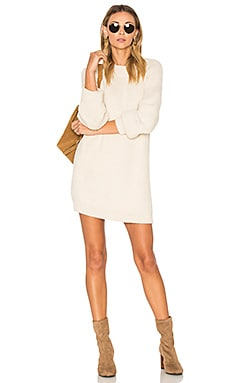 Kiru Sweater Dress in Ivory