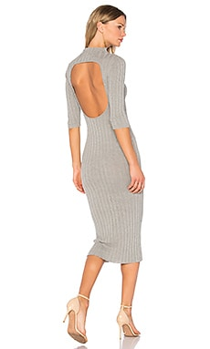 Nieves Sweater Dress in Light Grey