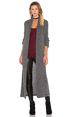 Aruni Long Cardigan in Stone Grey