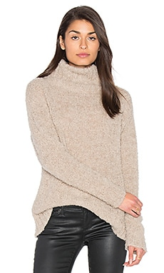 Amaya Turtleneck Sweater in Beige