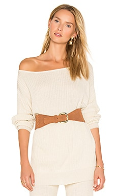 Java Off the Shoulder Sweater