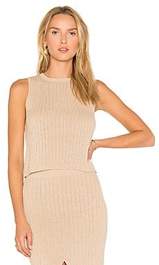 Pimentel Rib Sweater in Beige