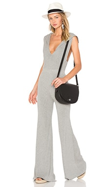 Kuro Jumpsuit in Light Grey