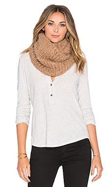 AYNI Brushed Knit Snood in Camel