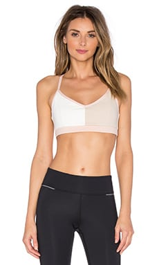 B3.0 B Fit Sports Bra in Bone & Warm White & Pink Sand