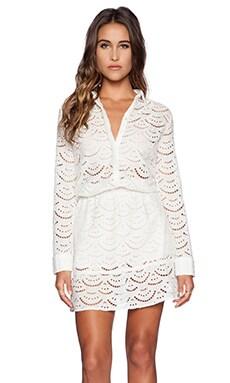ba&sh Rian Dress in Ecru