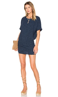 ba&sh Becky Dress in Jean
