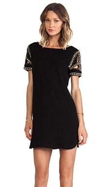Calpton Embellished Sleeve Dress